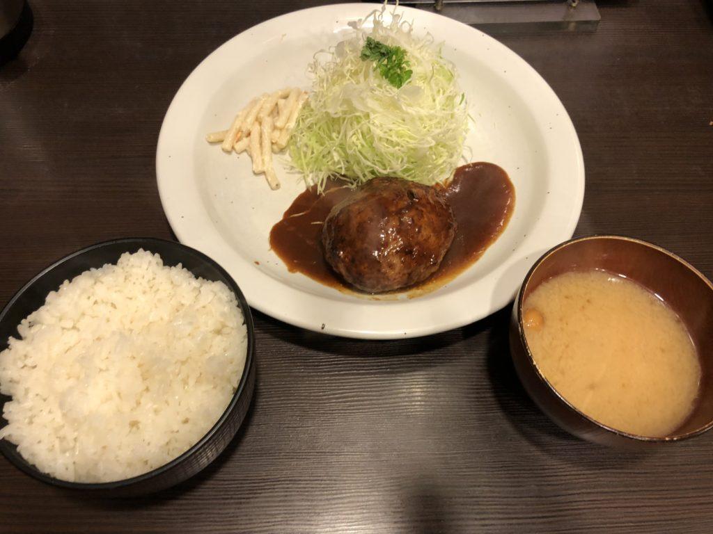 【洋食亭おおはし】ハンバーグが絶品の洋食屋【大森】ハンバーグ