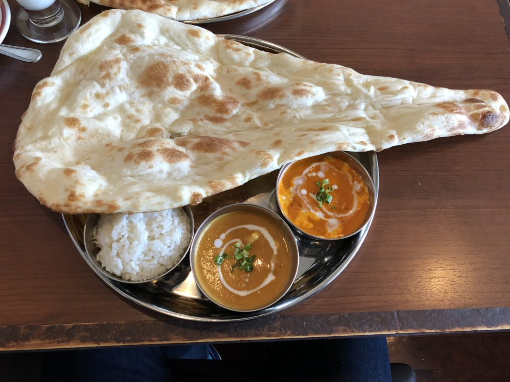 【インド料理ジョティ】本格的なカレーが食べられるお店 Bランチその1