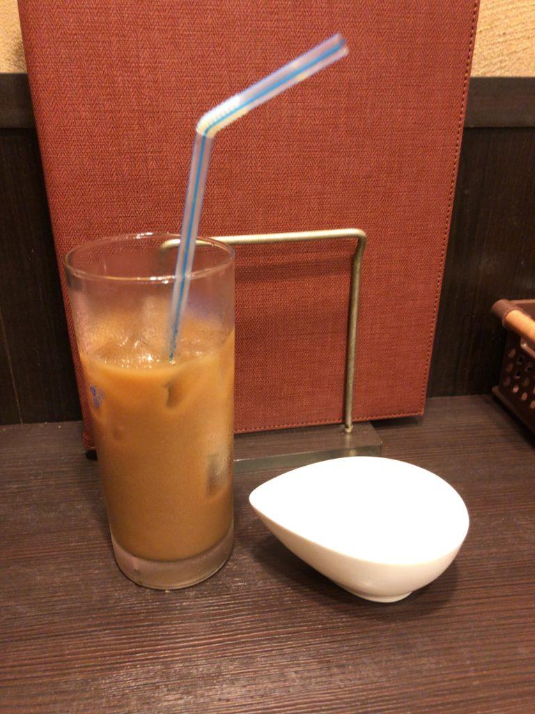 【洋食亭おおはし】ハンバーグが絶品の洋食屋【大森】アイスコーヒー
