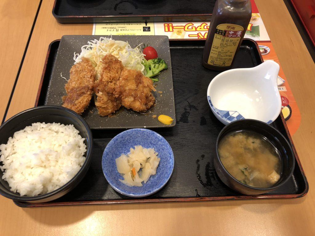 【夢庵】で美味しい和食ランチを食べよう!ひれかつとランチAセット
