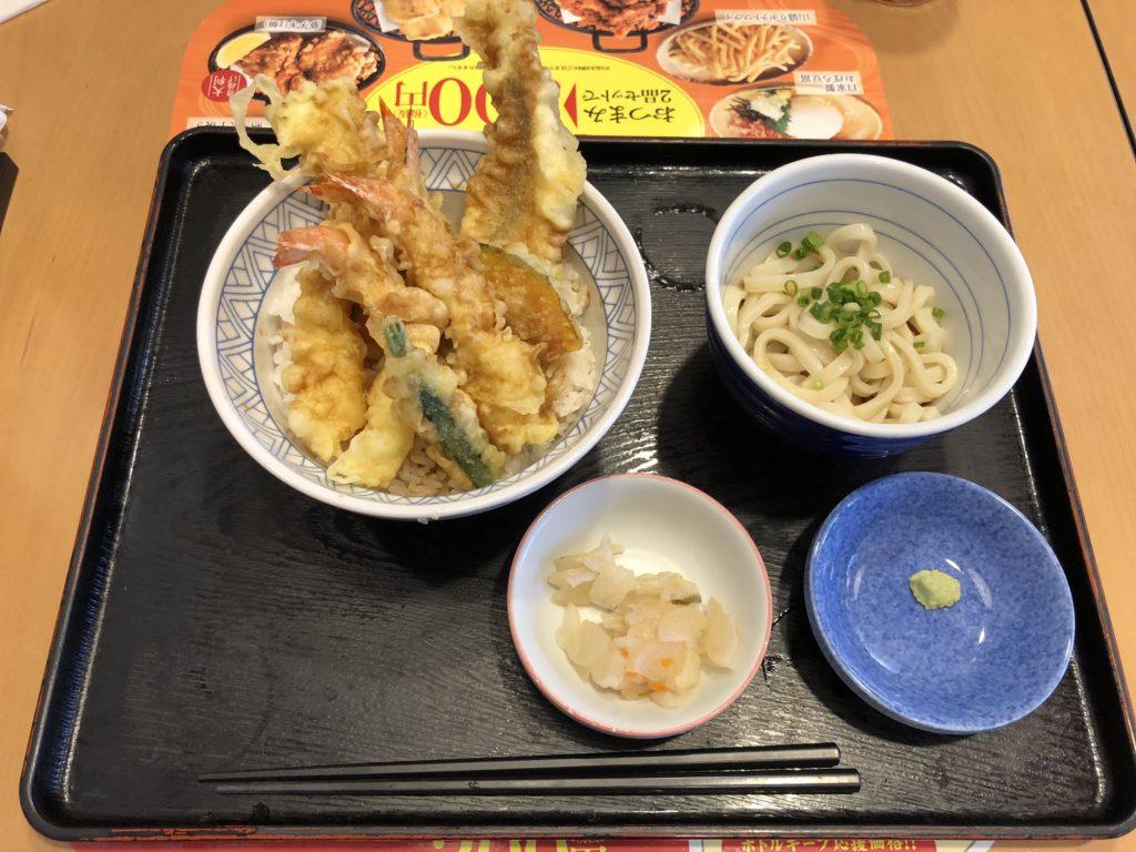 【夢庵】で美味しい和食ランチを食べよう!ランチ上天丼