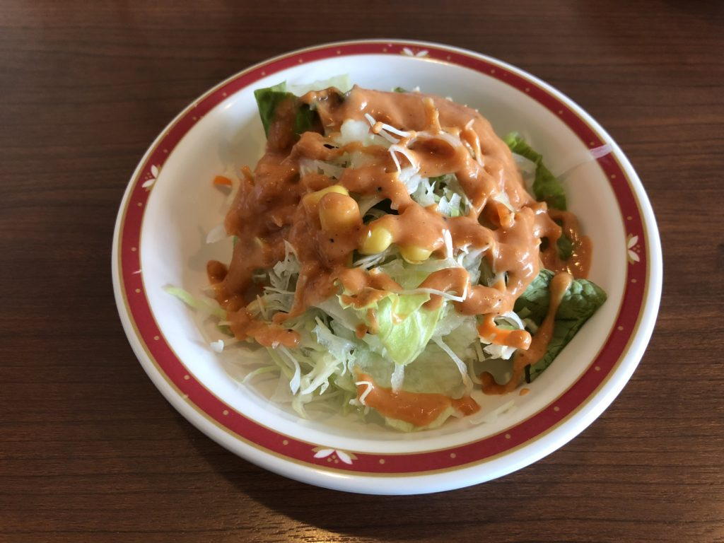 【インド料理ジョティ】本格的なカレーが食べられるお店 サラダ