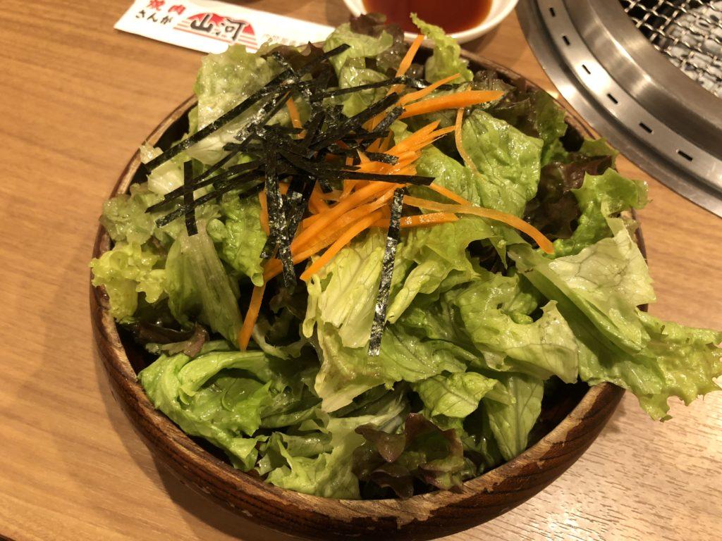 【焼肉山河】コストパフォーマンスも味も最強の焼き肉屋【北浦和】 チョレギサラダ
