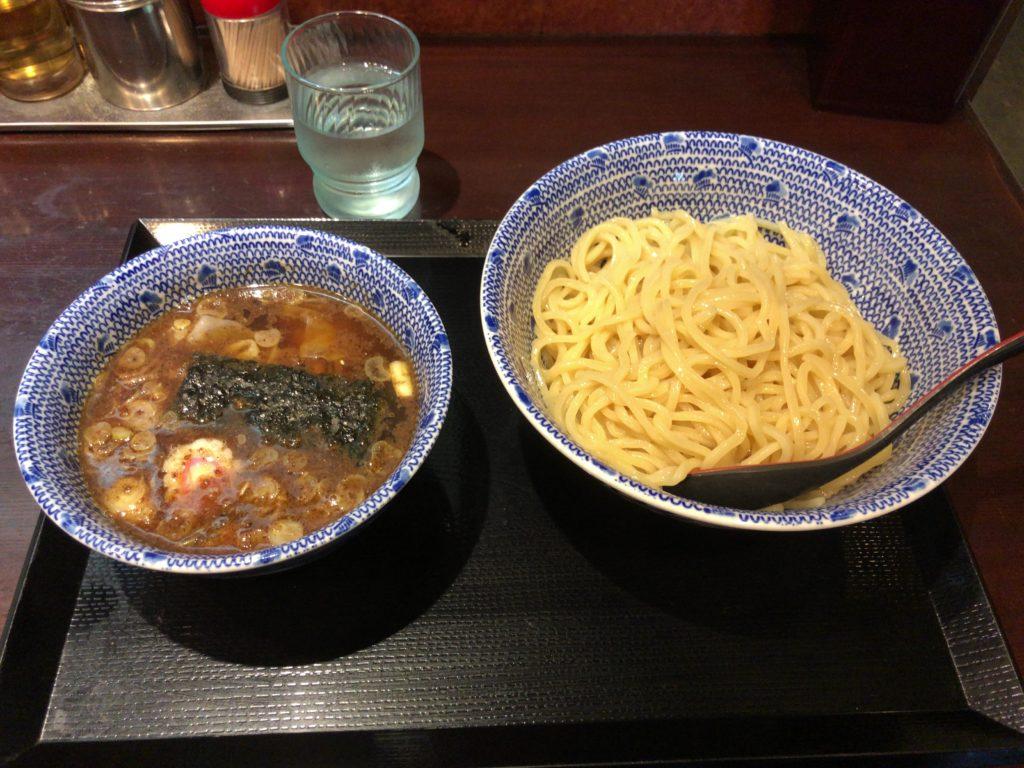 【金魚】ワンタンがおすすめのつけそば・中華そば屋【北浦和】ワンタンつけ蕎麦