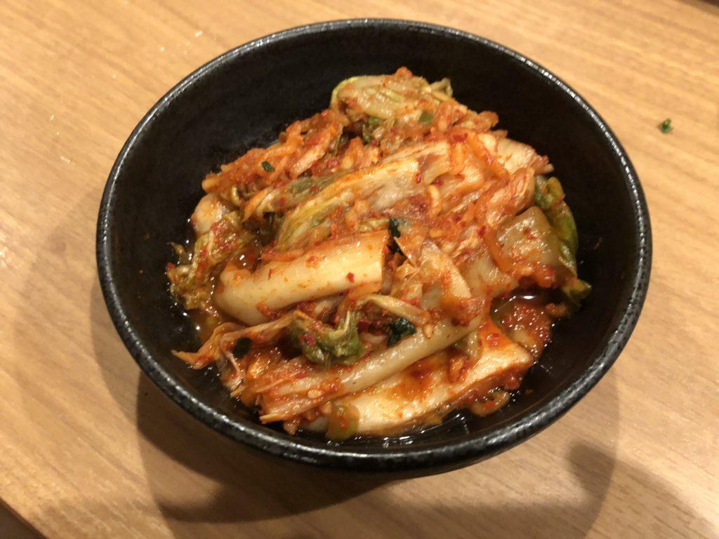 【焼肉山河】コストパフォーマンスも味も最強の焼き肉屋【北浦和】 キムチ