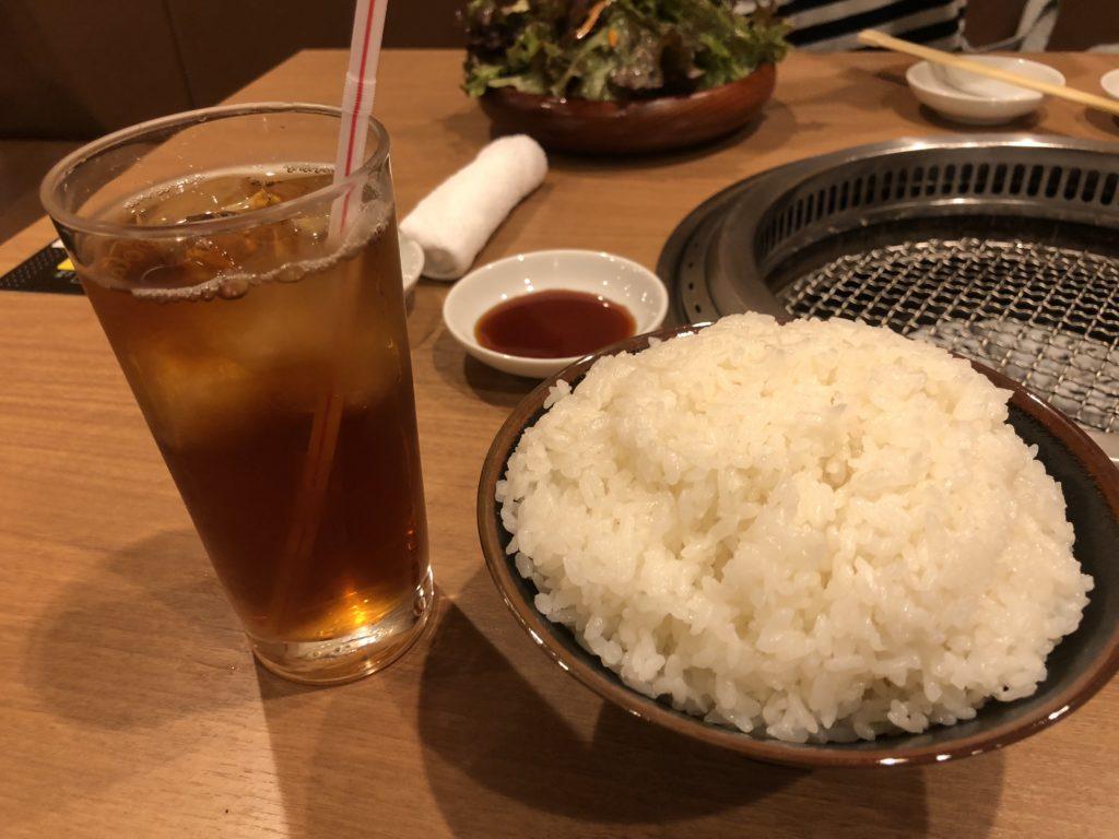 【焼肉山河】コストパフォーマンスも味も最強の焼き肉屋【北浦和】 ご飯 ウーロン茶